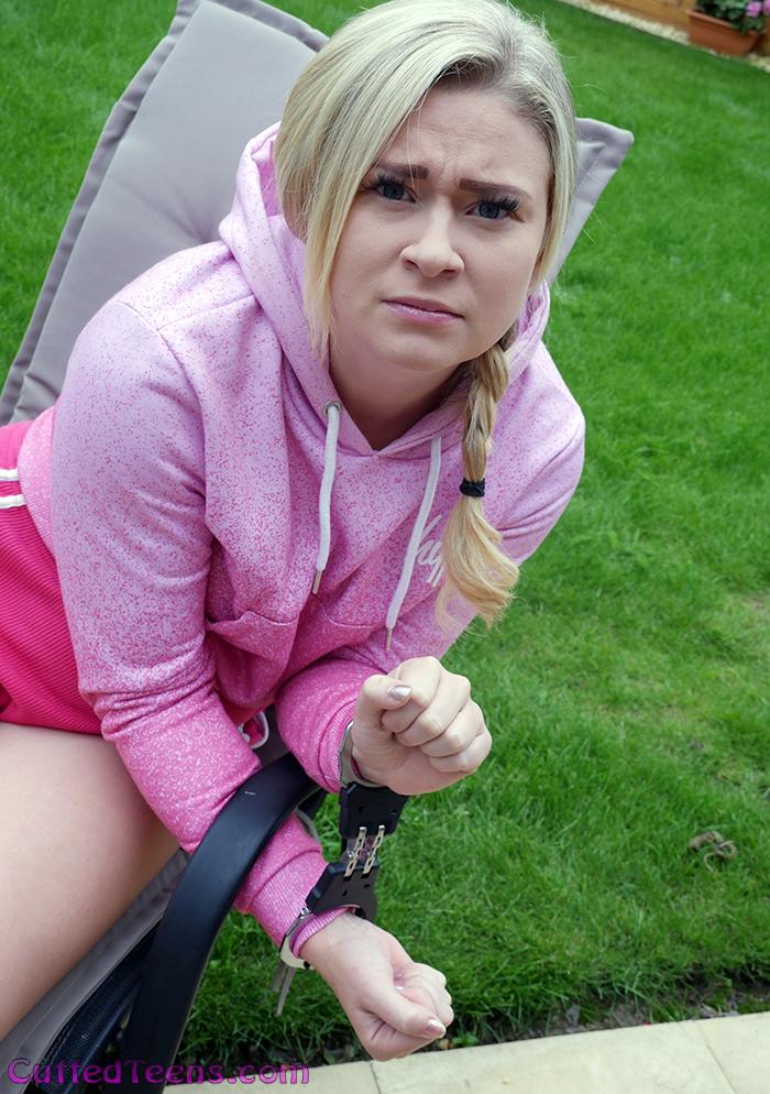 Tegan getting angry